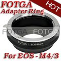 Wholesale FOTGA Lens Adapter Ring For Canon Lens to Micro 4/3 m4/3 Adapter for E-P1 G1 GF1 brass offer  oem