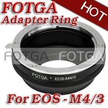 Оптовая FOTGA Переходное Кольцо Для Объектива Для Canon Объектив Микро 4/3 m4/3 Адаптер для E-P1 G1 GF1 латуни oem предложения