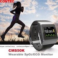 Newest Digital Wearable Sport Pulse Oximeter Blood Oxygen Oximetro de dedo Portable Oximeter SpO2/ECG Monitor Wireless Bluetooth