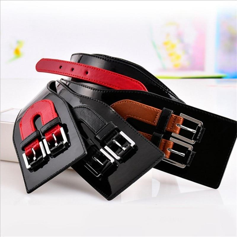 New Wide Cummerbunds Fashion Patchwork Waist Corset Belt Female Decorative Belts Girdles For Women Dress Winter Accessories