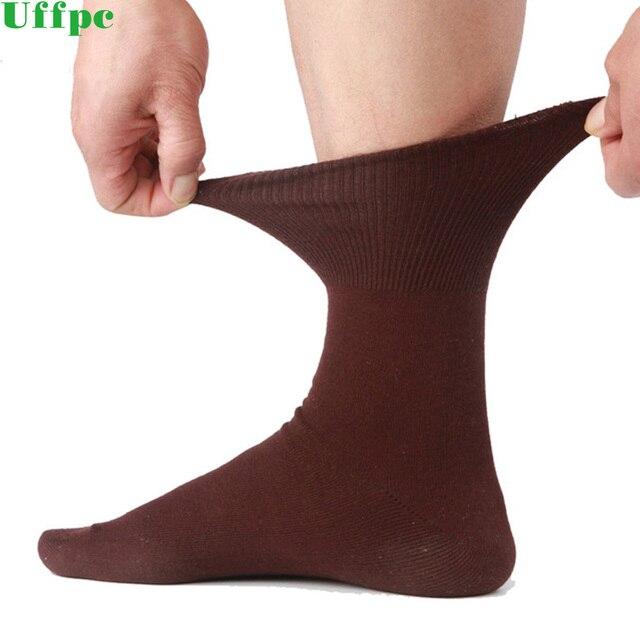 5 pairs/Lot Men Socks Cotton Long Good Quality Business Harajuku Diabetic Fluffy Socks Meias Masculino Calcetines no box