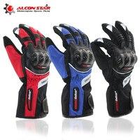 Alconstar Motorcycle Racing Gloves Winter Warm Waterproof Windproof Guantes Luvas De Moto Motocross Cycling Racing Gloves