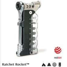 Topeak TT2520, trinquete, cohete Lite DX, llave hexagonal y Torx, kit de herramientas 15 en 1, Reparación de bicicletas múltiples y herramientas de mantenimiento