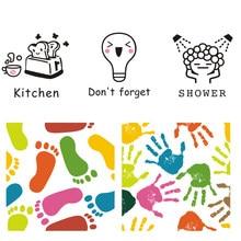 Yaratıcı Sevimli desen Duvar/elektrik düğmesi çıkartması banyo mutfak oturma odası anahtarı ev dekorasyon sanat çıkartmaları vinil Çıkartmalar