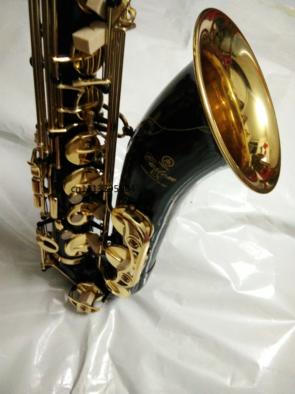 tenor saxophone instrument New high quality Sax paint Gold Tenor saxophone Perfect sound quality free delivery tenor saxophone instrument new selmer high quality saxophone tenor sax antique copper free shipping saxophone