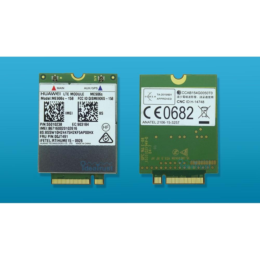 цена на ME906S ME906S-158 FRU 00JT491 01AX717 LTE NGFF 4G WWAN Network Card for T460 T460s P50s T560 X260 X1 Yoga L560 X1 Carbon P50s