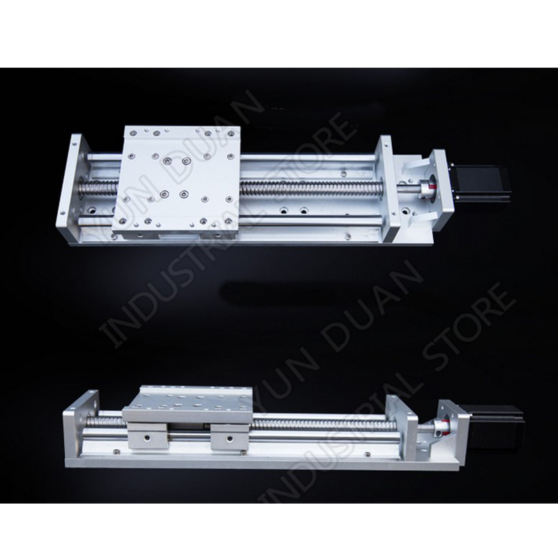 CNC Heavy Load Electric Precision Milling Sliding Table Slide Linear Stage SFU1605 C7 Ball Screw SBR Guide Platform 600MM Stroke