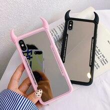 Luxury Mirror Phone Case For iPhone XS M