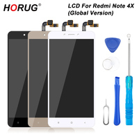 HORUG 100 AAAA Original LCD For Xiaomi Redmi Note 4X Screen LCD Global Version Replacement Display
