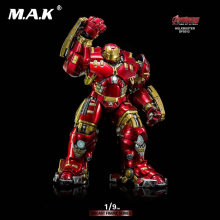 King Arts 1/9 Movie Series Iron Man 1/9 DFS012 Avengers 2MK44 Hulkbuster Diecast Figure Toy
