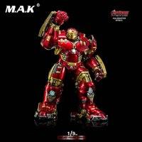 King Arts 1/9 Movie Series Iron Man 1/9 DFS012 Avengers 2MK44 Hulkbuster Diecast Figure Toy