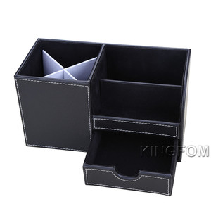 Image 3 - Multi function Desk Stationery Organizer Pen Holder Pens Stand Pencil Organizer for Desk Office Accessories Supplies Stationery