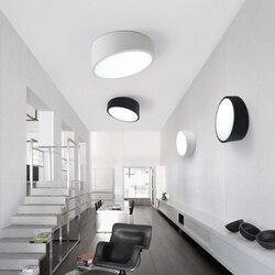 Geometria sypialnia salon sufit pokoju lampy LED kreatywny nowoczesny minimalistyczny korytarz wejściowy korytarz na sufit balkonowy ZZP41812