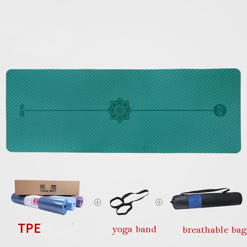TPE YOGA MAT godkendt SGS gym mat fitness yoga matta