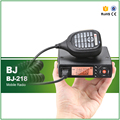 New Arrival BJ-218 Dual Band 136-174/400-480MHZ Vehicle Walkie Talkie Mobile Transceiver with Pro Cable and CD