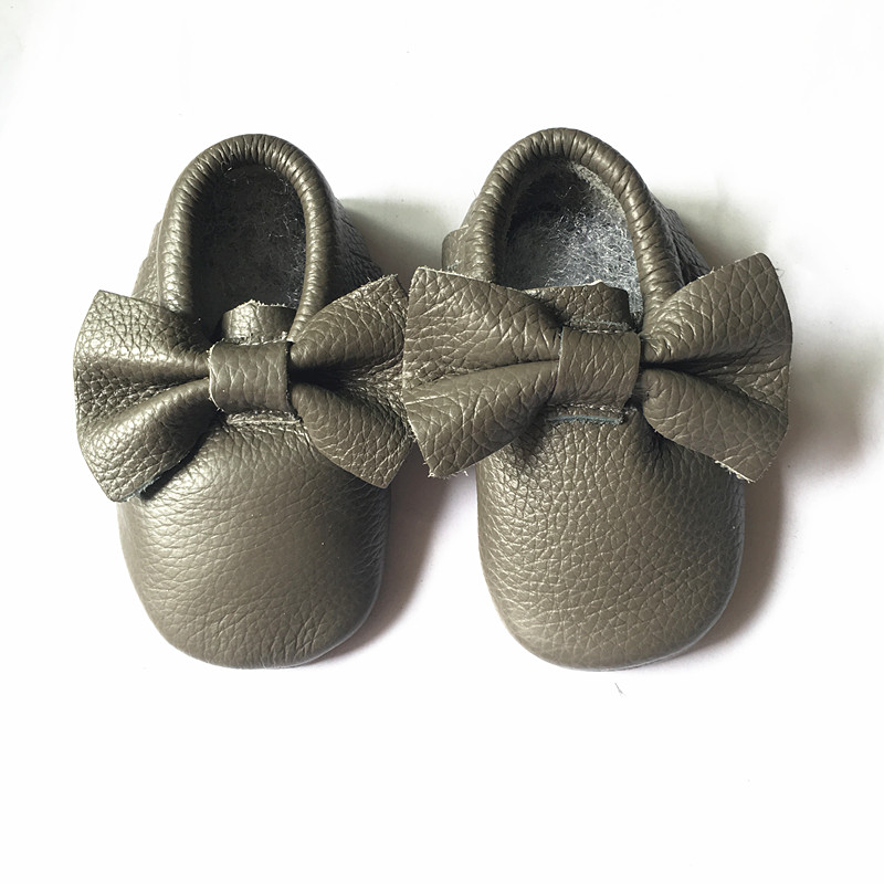 Genuine-Leather-baby-shoes-Toddler-Fringe-and-bow-baby-moccasins-First-Walkers-Infant-Baby-girl-and-boy-Shoes-Free-shipping-3