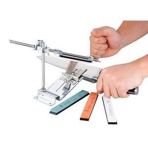 Image 2 - Bıçak kalemtıraş Ruixin Pro III tüm demir çelik profesyonel şef bıçak kalemtıraş mutfak bileme sistemi Fix açı 4 Whetston