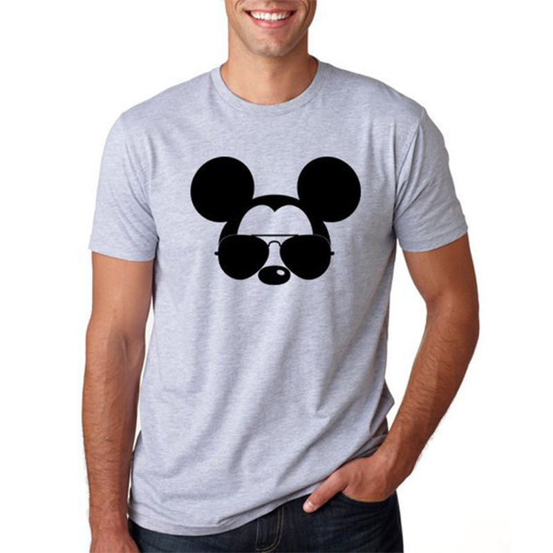 T Shirt Men Mickey Mouse Tshirt Plus Size Harajuku Shirt T-shirt Funny T Shirts Graphic Tees Men Streetwear Plus Size XS-3XL