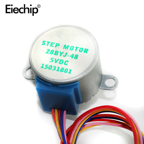 Smart Electronics 28BYJ-48 5V 4 Phase DC Gear Stepper Motor+ULN2003 Driver Board for Arduino UNO MEGA R3 Lahore