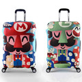 Super Mary Elastic Luggage Protective Cover Trolley Suitcase Dust Cover Bag For Lovers Couple Travel Accessories Supplies Produt