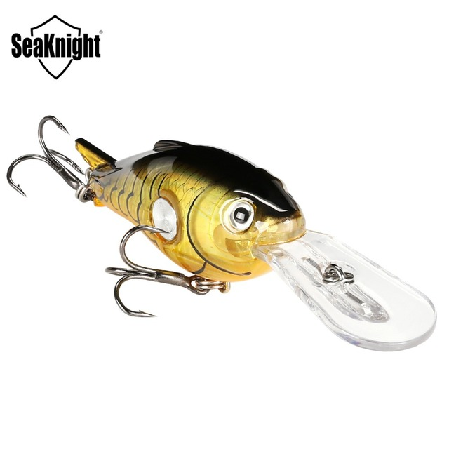SeaKnight SK003 Crankbait Fishing Lure 1PC 55mm 10g 1.8-3.9M Wobbler Floating Crank Baits Artificial Hard Fishing Lure Saltwater