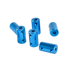 Aluminum Alloy Blue Shaft Coupling for 3D Printer