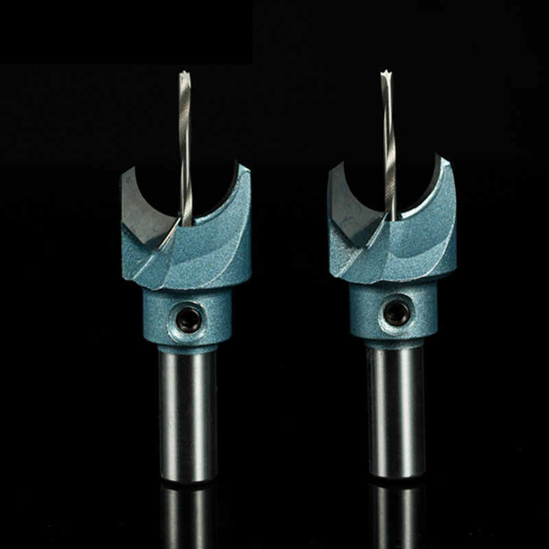 4Pcs 6mm-12mm Hole Saw Drill Bit Carbide Steel Cutter Tool for Wood Buddha Beads