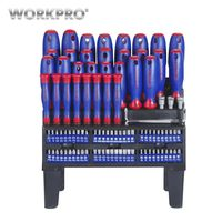 WORKPRO 100PC Screwdriver Set Precision Screwdrivers for Phone Screw Driver Set Home Tools