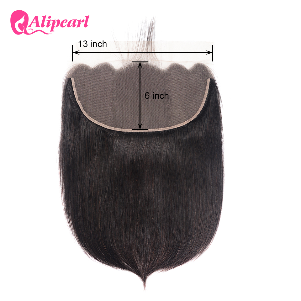 Human Hair Weaves Careful Alipearl Kinky Straight Hair Bundles With Frontal Closure Brazilian Yaki Human Hair Bundles With Frontal 13x4 Freepart Remy Hair