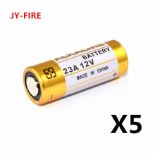 5pcs/Lot Alkaline Dry Battery  23A 12V 21/23 A23 E23A MN21 MS21 V23GA L1028 Small Battery 5pcs lot alkaline battery 12v 23a dry batteries 21 23 a23 e23a mn21 ms21 v23ga l1028 for doorbell car alarm remote control etc
