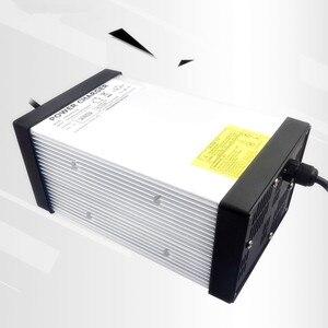 Image 2 - YZPOWER חמה לקנות 87 v 8A 7A 6A 5A עופרת חומצת סוללה מטען עבור 72 v Ebike דואר אופניים סוללה עם 4 קירור מאוורר עם תקע