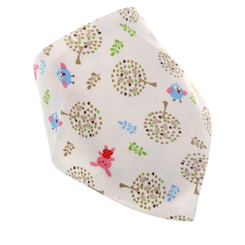 Lovely Newborn Baby Cotton Bib Infant Saliva Towels Baby Accessories Bibs Wear Lovely Cartoon Head Scarf