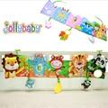 Jollybaby Baby Activity Cloth Book Cartoon Animal Soft Baby Educational Toy Cloth Book Plush Animal Story Intelligence Visual #E