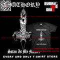 Bathory Viking metal Band Hungarian short-sleeve t-shirt  tee t