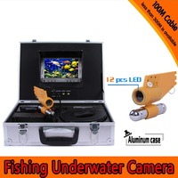 1 Set 100M Cable Underwater Fishing Camera HD 700TVL Waterproof CMOS Lens Night Version Camera
