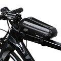 Верхняя труба для дорожного велосипеда из полиуретановой ткани EVA Водонепроницаемая универсальная черная жесткая оболочка 2.2L аксессуары д...