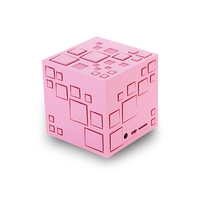 For Magic Cube Bluetooth Speaker Wireless LED Lights Subwoofer Stereo Sound Loudspeakers Support TF FM Christmas Gift with Box
