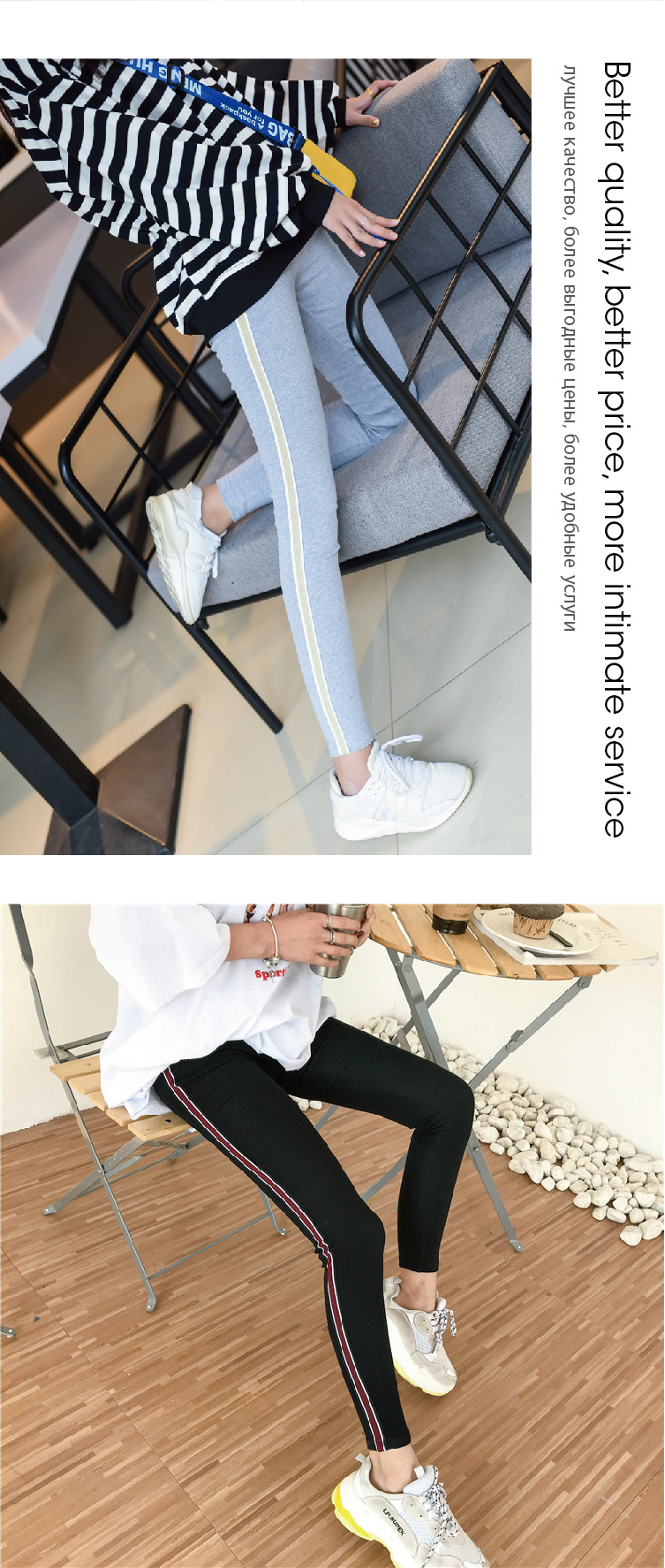 2019 New Fashion Women's Spring And Autumn High Elasticity And Good Quality Slim Fitness Capris Streetwear Leggings Cotton Pants 77