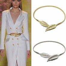 Flower leaf shape Wedding designer Elastic belts women