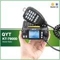 QYT KT-7900D Quad Band 136-174/220-270/350-390/400-480 МГц 25 Вт 200 Каналов Красочный Экран мини Мобильный Fm-радио с Кабелем