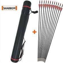 12 PCS 80cm Glassfiber Rubber feather Arrow Replaceable Arrowhead Length Archery Recurve Bow Childrens Basic Training