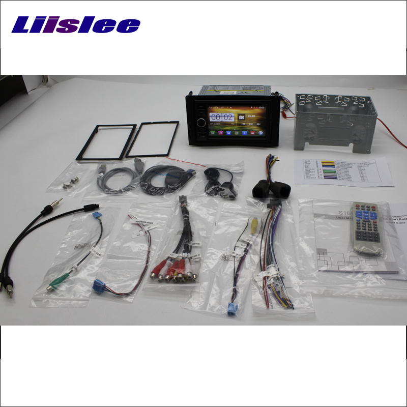 Liislee Car Radio For SAAB 9 3 2003~2014 GPS Navi Navigation Stereo Audio Video CD DVD Player Wince & Android 2 in 1 S160 System