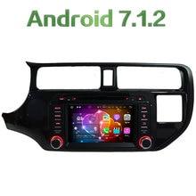 Android 7.1.2 Quad-Core 2GB RAM 3G 4G WIFI DAB+ SWC Car DVD Multimedia Player Radio Stereo For Kia K3 RIO 2011 2012 2013 2014