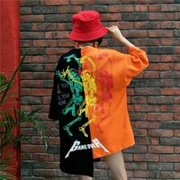 Big Size T Shirts Women Lovers Harajuku Street Wear Design Skulls Game Over Print Rock Shirt