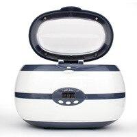 600ML Ultrasonic Cleaner 35W for Necklace Earrings Bracelets Dentures Household Ultrasonic Cleaning Washer machine Baths