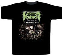 Make A Tee Shirt Short Sleeve Print Voivod 'Killing Technology Crew Neck Mens Tee