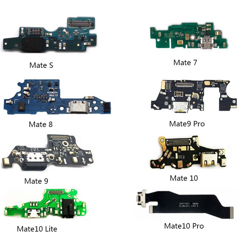 USB Dock Connector Charging Port Charger Flex Cable For Huawei Mate7 8 9 10 Mate10 Pro Lite Mate S Headphone Jack Flex Ribbon