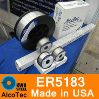 ER5183 AlcoTec Made In USA Aluminum Welding Wire Almigweld Premium Quality Al Mg Alloy Welding Wire