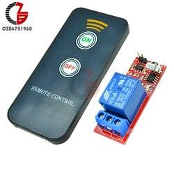 DC 5V 12V 1 moduł przekaźnikowy podczerwieni IR zdalny przełącznik sterujący 1 CH przekaźnik kontroler płyty napędowej dla elektronicznego DIY|infrared switch relay|switch relayswitch relay module -