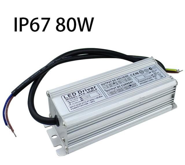 ip67 led power supply 80w ac85 277v to dc18v 36v waterproof led